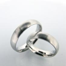 H. 4us forlovelsesringe (par)